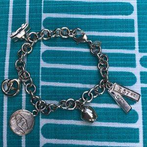 Tiffany & Co. New York charm bracelet 925 silver